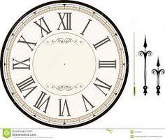 Free Printable clock faces - Cerca con Google