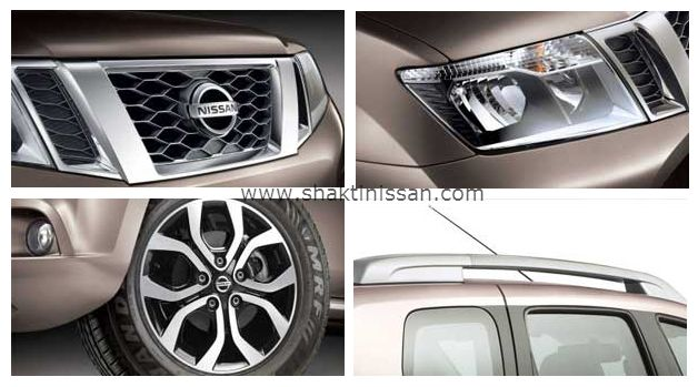 #TerranoExterior  - Signature Grille - A strong, confident front fascia is accented by the signature grille, - 4-Pod Design Head Lamps - Machined Alloy Wheels - Lavishing Design