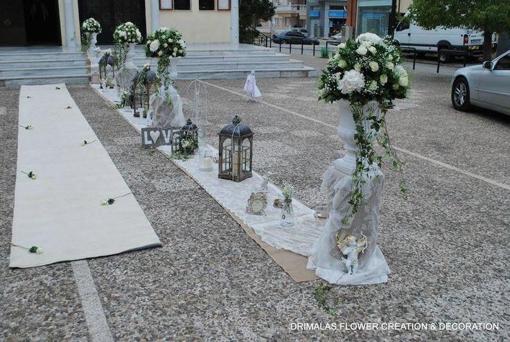 Ρομαντικός γάμος με vintage διακόσμηση