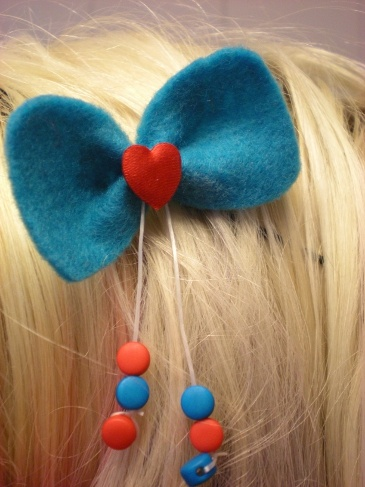 Bow-shaped hairpin 3.