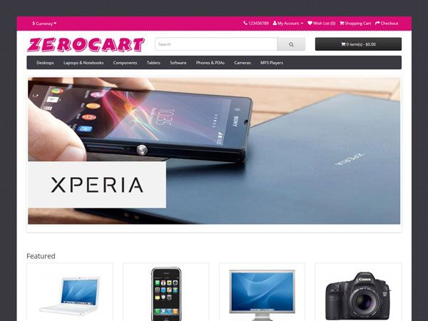 16 Free Responsive OpenCart Themes