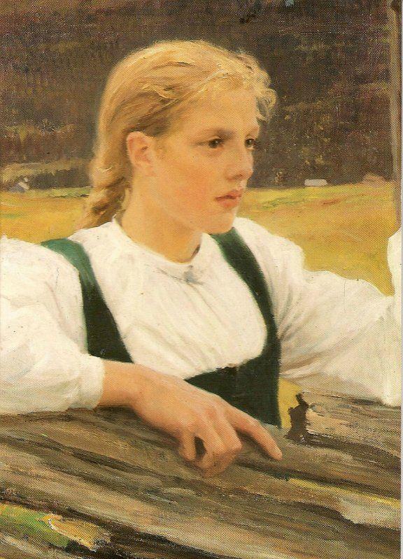 Swedish-speaking Finnish painter Albert Gustaf Aristides Edelfelt