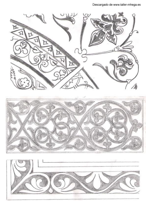 Best ornamental motifs patterning design images on