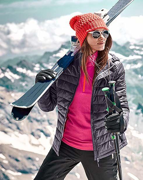 Dámské a pánské lyžařské oblečení a vybavení – v Tchibo