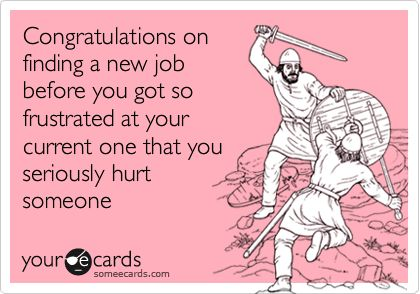 ecards congratulations new job funny