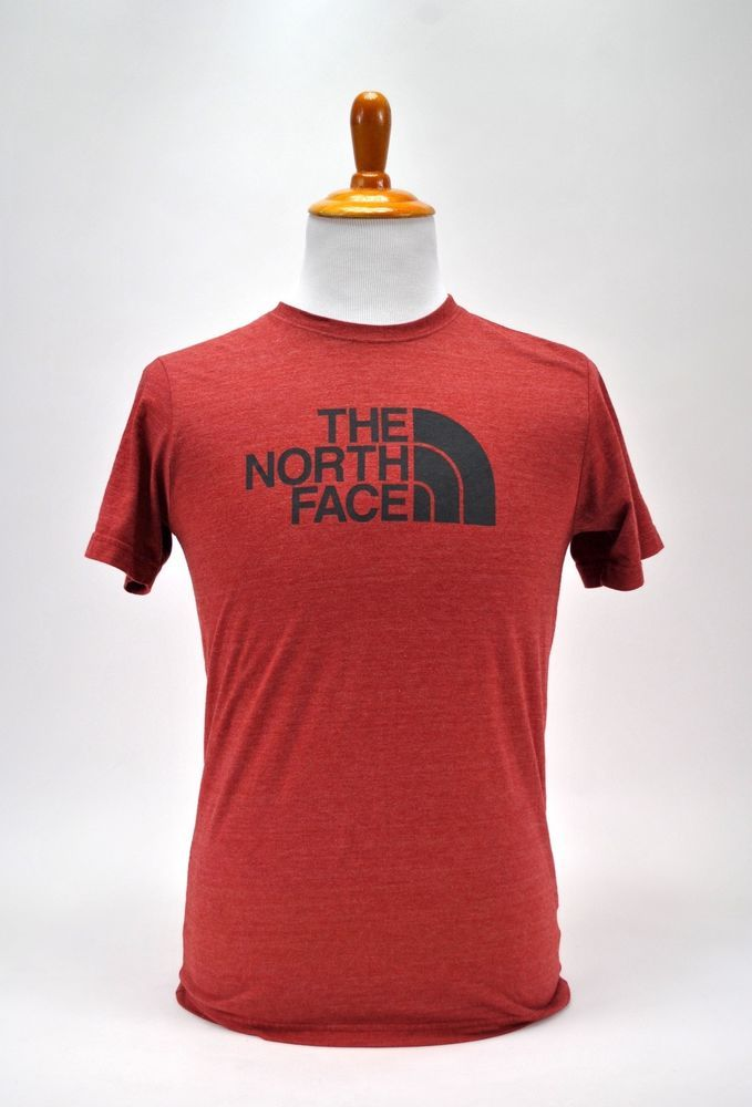 The North Face T-shirt Mens Graphic Tee Slim Fit Short Sleeve Red Size M   TheNorthFace  GraphicTee 8e168e0c6