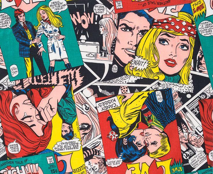 In de jaren '50 verovert een golf van rock-'n-roll en jeugdcultuur uit Amerika de wereld. De mix van populaire beelden en muziek met kunst en mode verandert de manier waarop mensen gekleed gaan. Veel jonge ontwerpers maken, geïnspireerd door popart, spannende nieuwe patronen voor textiel en behang.