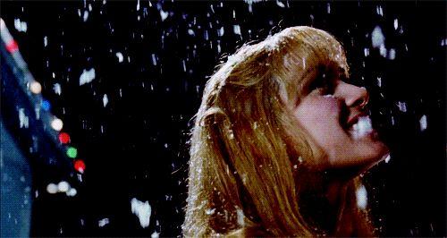 Edward Scissorhands, snow dance