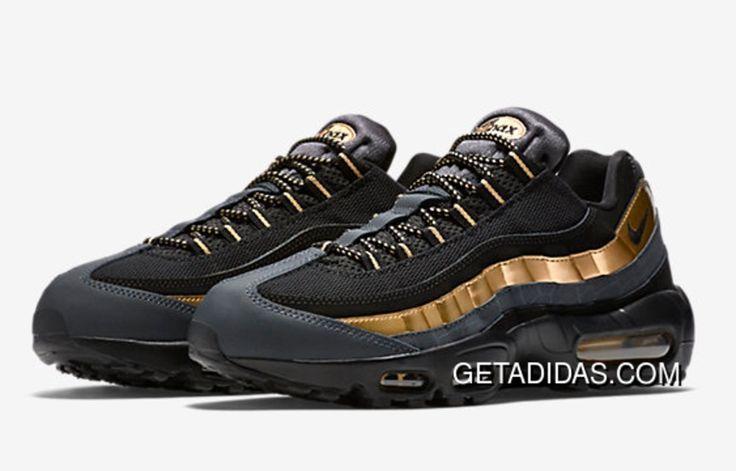 http://www.getadidas.com/nike-air-max-95-black-golden-mens-shoe-topdeals.html NIKE AIR MAX 95 BLACK GOLDEN MENS SHOE TOPDEALS Only $87.62 , Free Shipping!