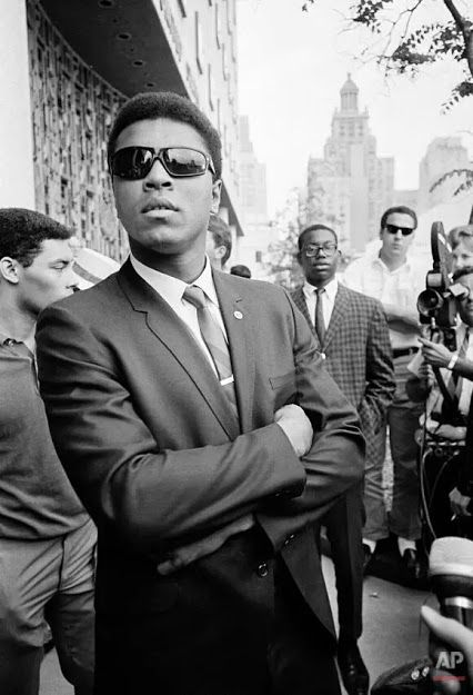 On April 28, 1967, Muhammad Ali walked into an army induction center in Houston, Texas. There he would inform the draft board that he was refusing to take the army oath, saying he was exempt because of his ministership in the Nation of Islam. On April 28, 1967, the same day Ali refused to be inducted, the New York State boxing commission indefinitely suspended his license to box and stripped him of the title of heavyweight champion of the world.