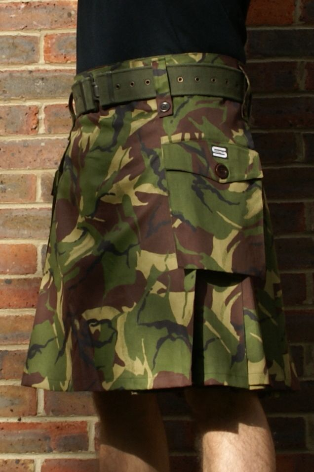 Camo Kilt for Man only