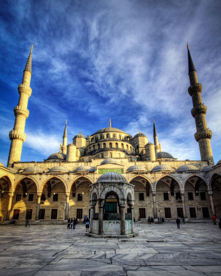 "Istanbul, Turkey • ""Sultan Ahmet Mosque a.k.a The Blue Mosque"" by Harald Wagener"