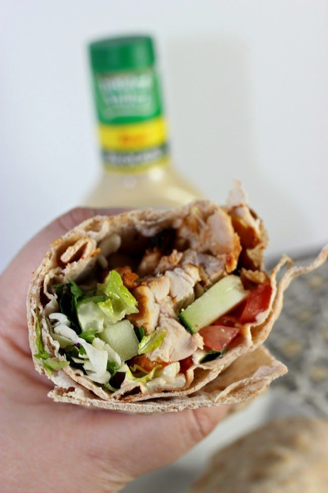 Recipe: Chicken Avocado Ranch Wraps.  OMG This is so good and so EASY to make.  Perfect for summer meals, lunches for work, etc.