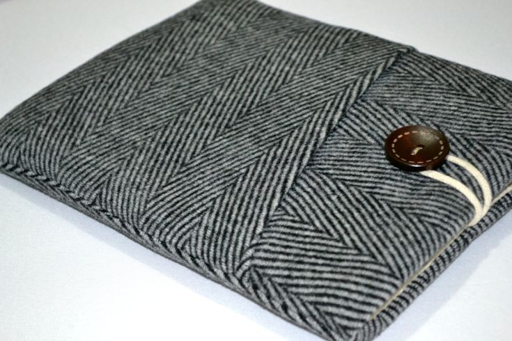 "Organic Wool herringbone 11""Chromebook Sleeve Cover,11 inch MacBook Air or Microsoft Surface Case, surface pro 3 case, 11.6 inch laptop case by RCRAFTSS on Etsy"