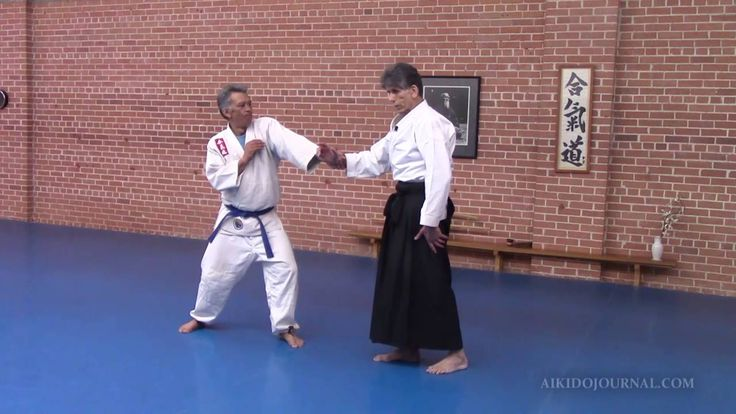 Aikido's Nikyo: Locking your opponent's entire body structure