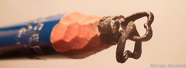 Les sculptures de mines de crayons de Recep Alçamlı   sculptures de mines de crayons par recep alcamli 8