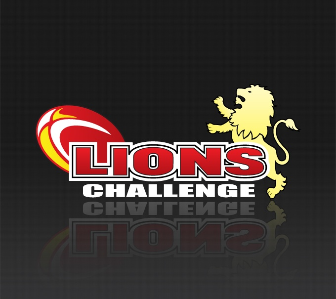 Lions Challenge: Logo Design | Collateral   An independent competition hosted by the Golden Lions Rugby Union.