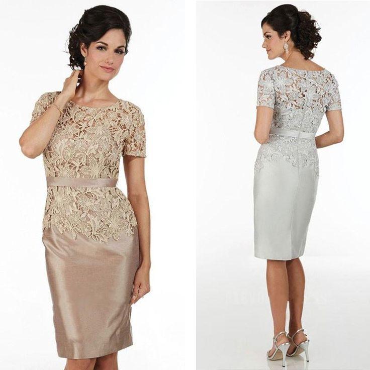 groom's mother short dresses