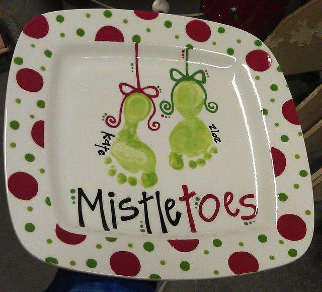 mistletoes by Color Me Mine Enterprises, Inc., via Flickr