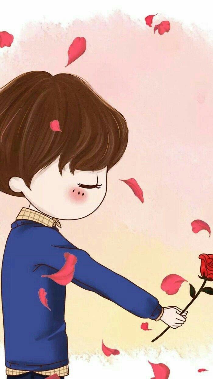 Pin Oleh Usman Di Love Romantic Poetry Wallpaper Iphone Kartun Gambar