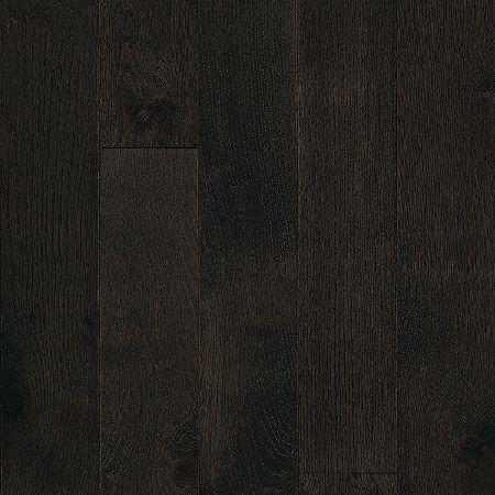 White Oak Hardwood Flooring - Black : EBKBI53L405W by Bruce Flooring