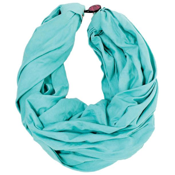 Audrey Circle Scarf Turquoise turquoise, women's shop, women's scarves