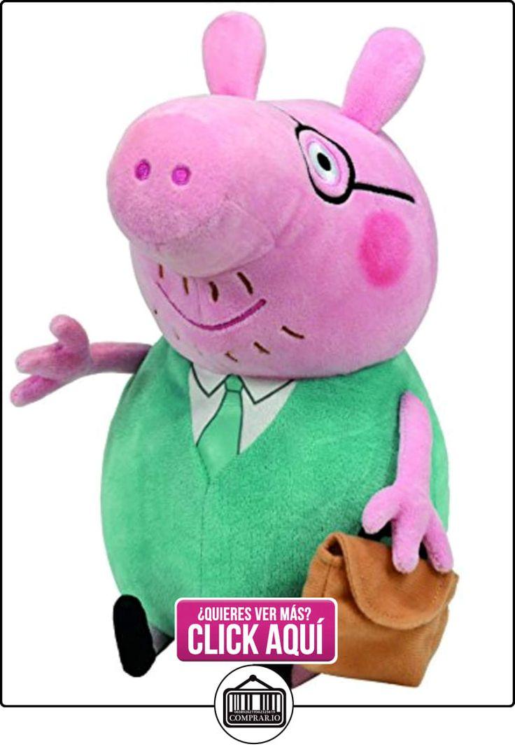 Peppa Pig - Peluche Daddy Pig, 33 cm, color verde (TY 96233TY)  ✿ Peppa Pig - Peppa La Cerdita ✿ ▬► Ver oferta: http://comprar.io/goto/B002TR0OZI