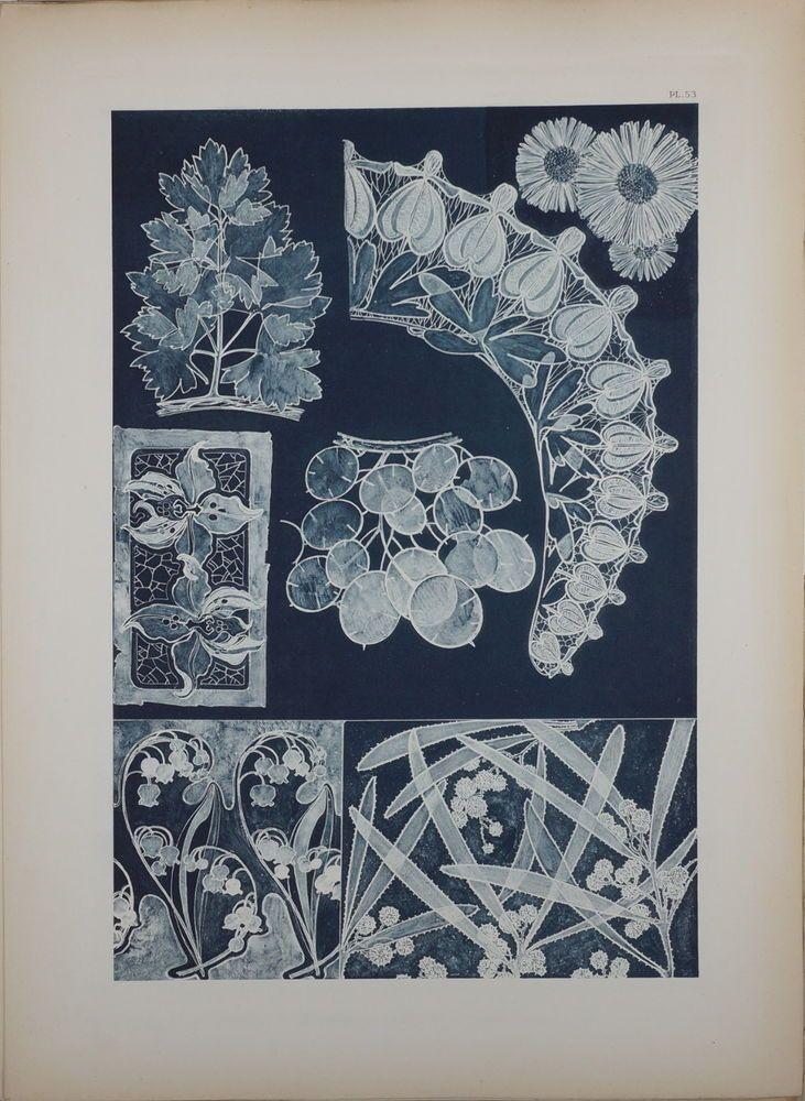 ALPHONSE MUCHA DOCUMENTS DÉCORATIFS ORIGINAL LITHOGRAPH 1902 ART NOUVEAU PL 53 #ArtNouveau