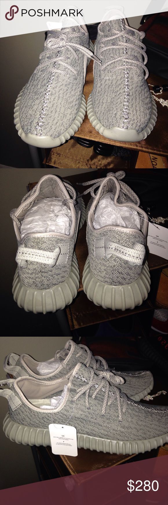 Yeezy Boost 350 Moonrock 9.5 I just wear it once and the BOX is little torn. You decide, you see is what you get! Bargain price. Adidas Shoes Athletic Shoes