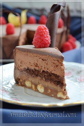 Торт Вулкан вкусов