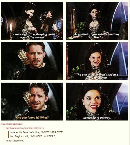 This though xD truth! But don't worry Robin, the love comes later ;)