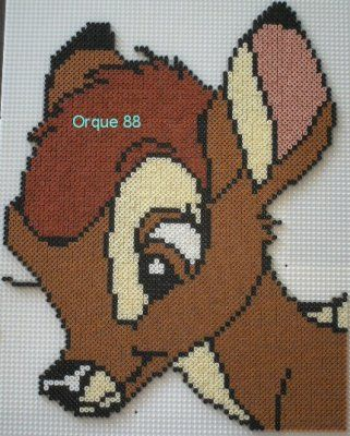Bambi hama beads by marmotte88130