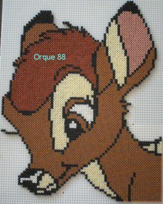 Bambi hama beads by marmotte88130