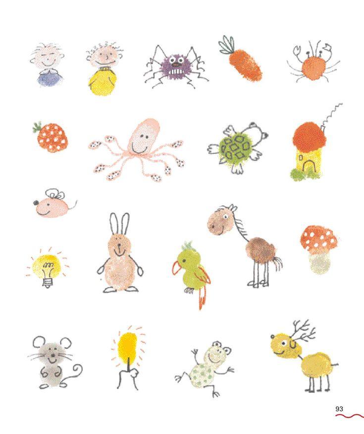 ISSUU - Inkijkexemplaar Creatief met vingerafdrukken by Veen Bosch & Keuning uitgeversgroep