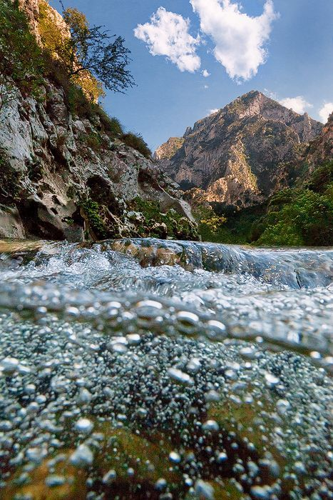 Picos de Europa' National Park in northern Spain Rio Deva by ...