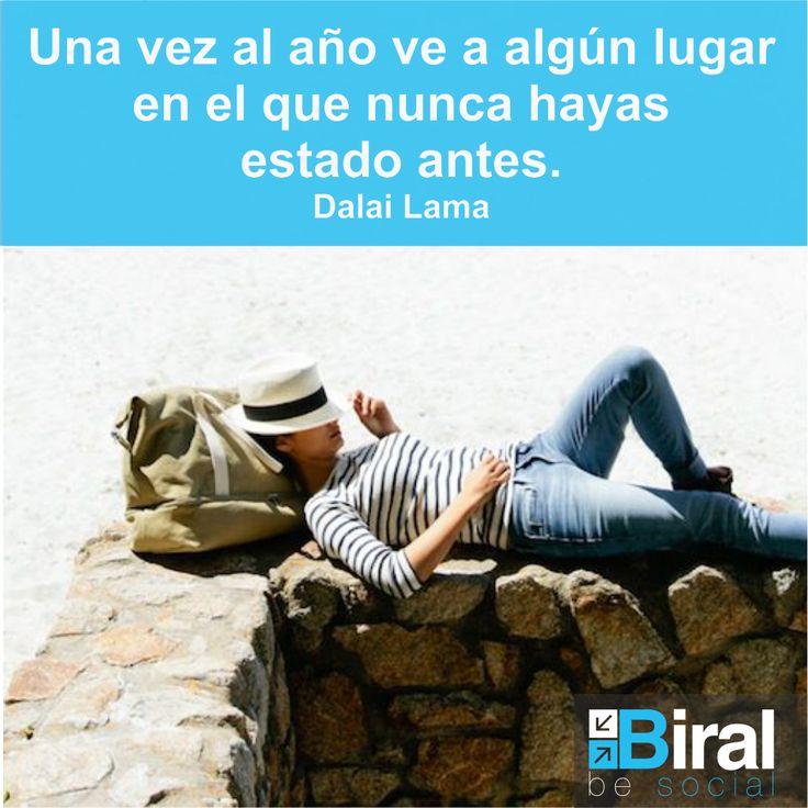 Frases Biral. #travel #felicidad #happy #women #playa