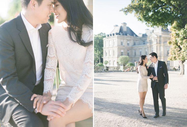 Hong Kong natural style wedding photographer - paris engagement shoot-39