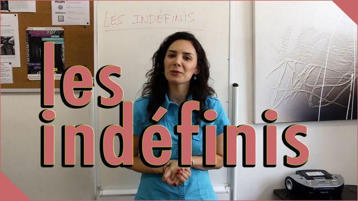 Aula de Francês – Pronomes e Adjetivos Indefinidos (Legendado) IFESP