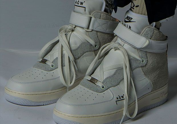 6cf656fa640 A-COLD-WALL  x Nike Air Force 1 High Is Releasing Again + Release ...