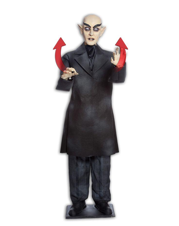 nosferatu life size animated prop from spirit - Spirit Halloween Props
