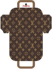 Ideas y material gratis para fiestas y celebraciones Oh My Fiesta!: Louis Vuitton: Bolsos para Imprimir Gratis.