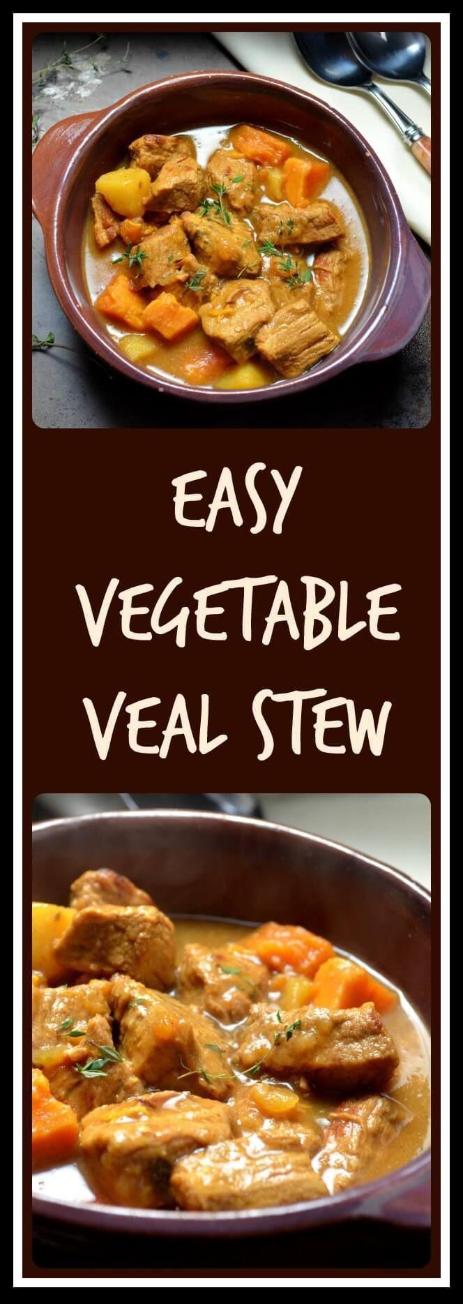 Easy Vegetable Veal Stew