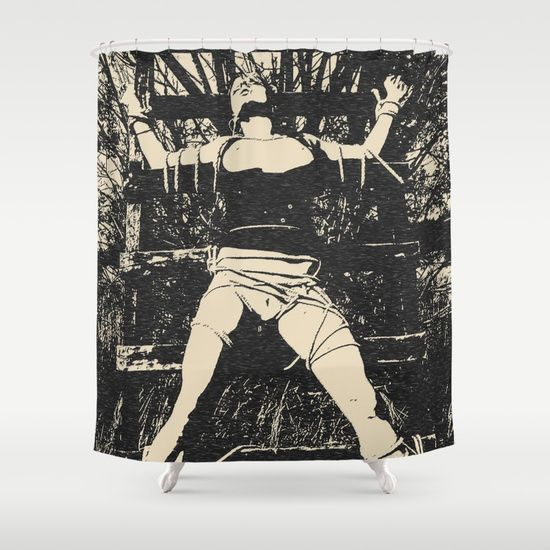 20% Off + Free Worldwide Shipping on Everything - Sale Ends Tonight at Midnight PT! Customize your bathroom decor with unique shower curtains designed by artists around the world. Made from 100% polyester our designer shower curtains are printed in the USA and feature a 12 button-hole top for simple hanging. The easy care material allows for machine wash and dry maintenance. Curtain rod, shower curtain liner and hooks not included. Dimensions are 71in. by 74in.