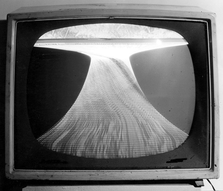 """Wolf Vostell, (14 October 1932 – 3 April 1998) - """"TV für Millionen"""".  Was a German painter and sculptor and is considered one of the early adopters of Video art and Environment/Installation and pioneer of Happening and Fluxus."""