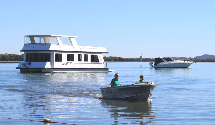 Bring your own tinnie for your Coomera Houseboat holiday.  #coomerahouseboats   #Goldcoast  #houseboat  #holiday  #holidays  #boating  #fishing  #Houseboating