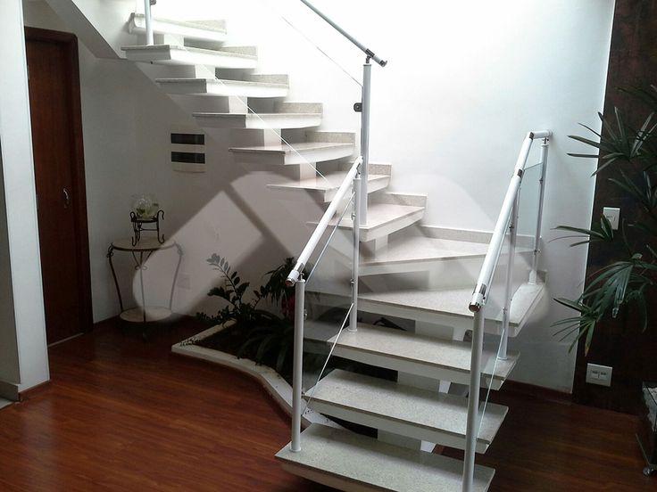 Escada em L | Escadas em L Concreto