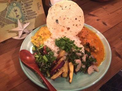 カレー細胞 -The Curry Cell- ニッポンで進化するインド料理、重ね煮カレーとは?「Curry & Spice 青い鳥」誕生。(幡ヶ谷)
