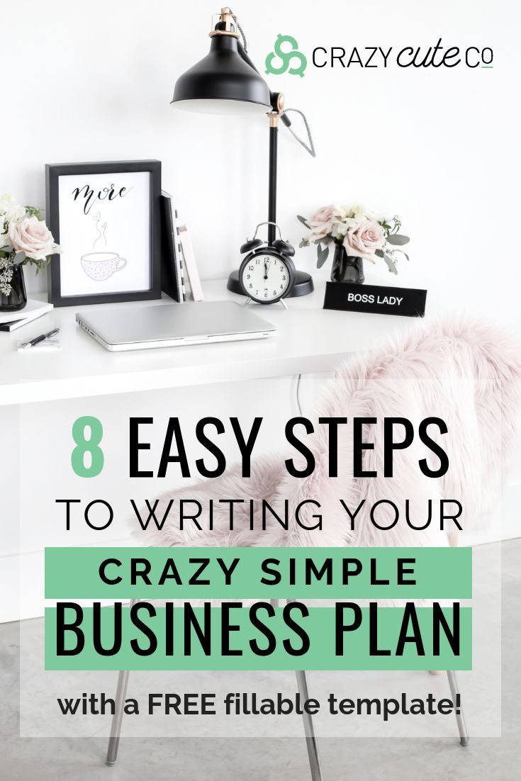 How to Write a Crazy Simple Business Plan in 8 Steps