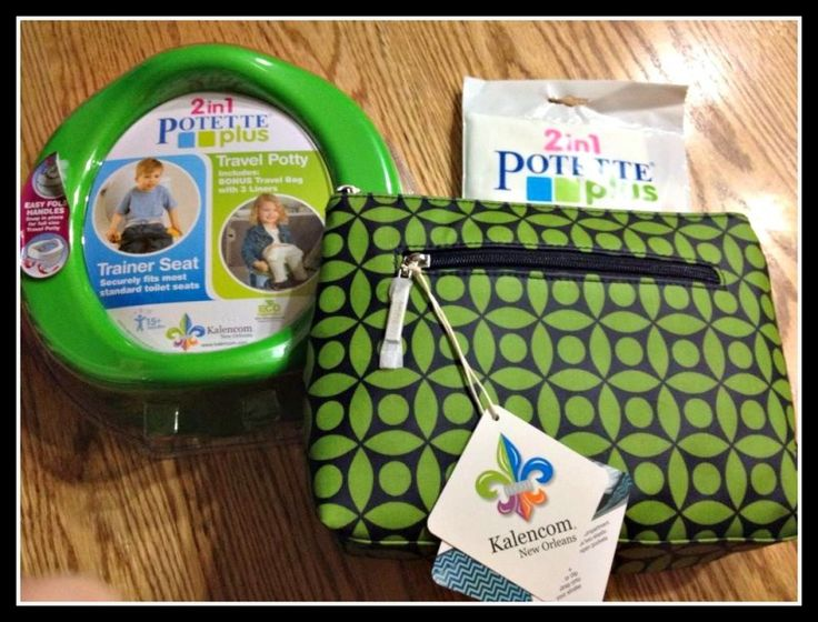 Kalencom diaper clutch + portable potty seat #giveaway - great for older toddlers. sweepstakes ends 10/24/2014 US only