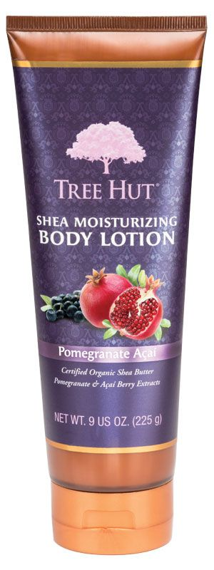Body Lotion | Moisturizing | Pomegranate Acai | Tree HutTree Hut Shea